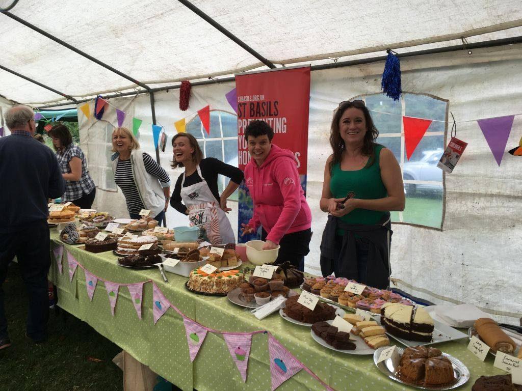 Knowle and Dorridge Ladies Circle cake stall