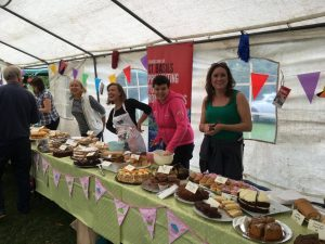 Knowle and Dorridge Ladies Circle cake stall