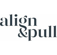 align and pull logo