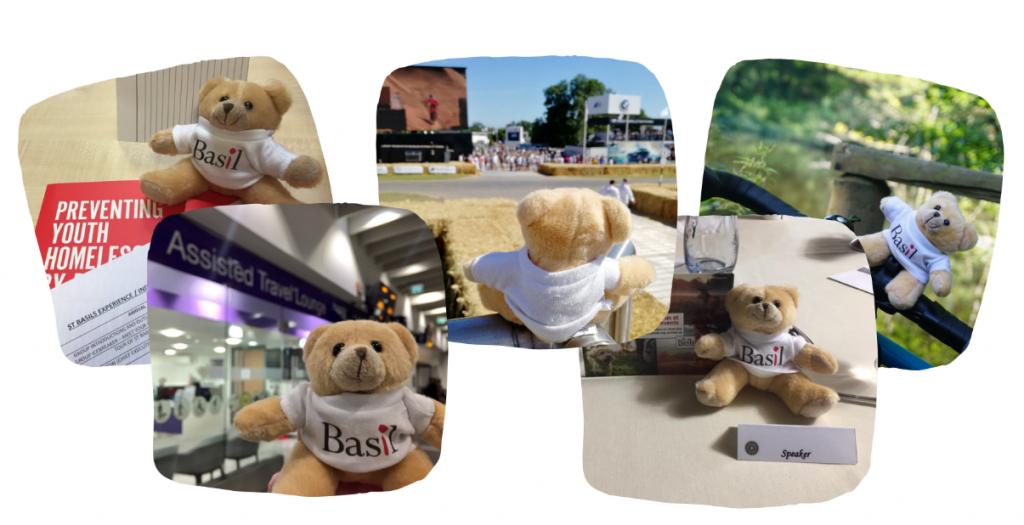 Basil adventures photo medley