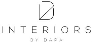 Interiors by Dapa white logo