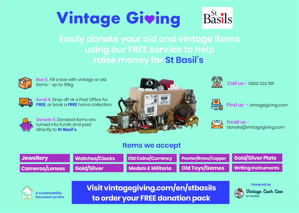 Vintage giving poster