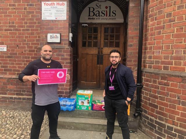 Eden Boys Leadership Academy make regular donations as part of good acts during Ramadan