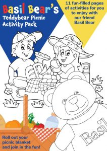 teddy bears picnic children's activity pack front cover