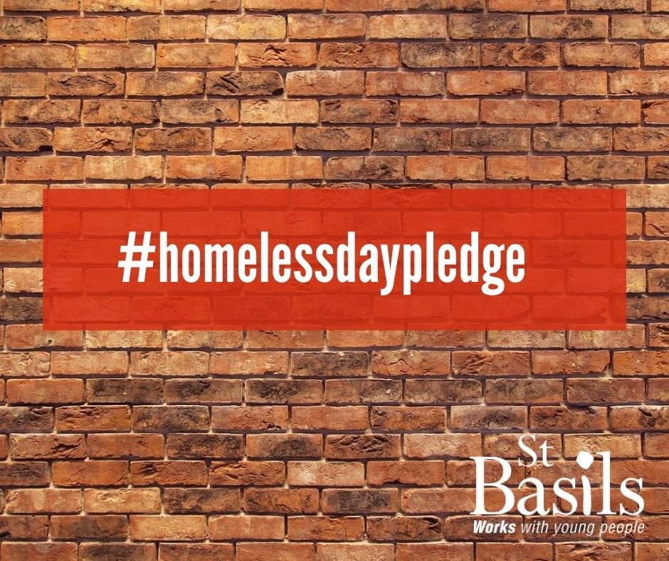 Make your pledge this World Homeless Day