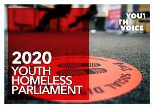 Youth Homeless Parliament 2020 report cover