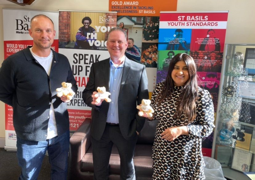 Haines Watts Birmingham announces charity partnership with St Basils